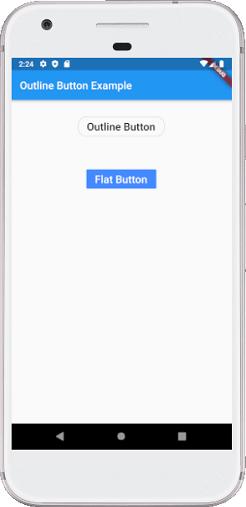 Flutter Buttons