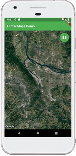 Flutter Google Maps