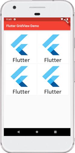 Flutter GridView