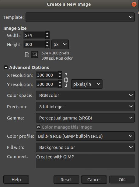 GIMP Draw Rectangle