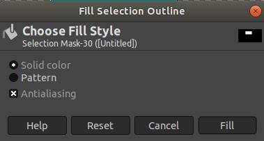 GIMP Edit Menu