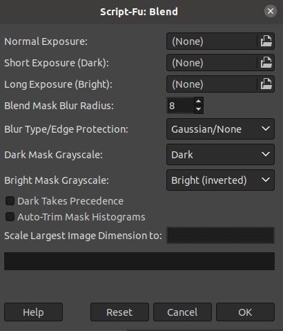 GIMP HDR