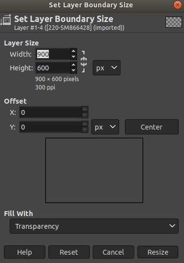 GIMP Layers