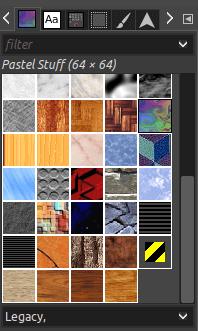 GIMP Patterns