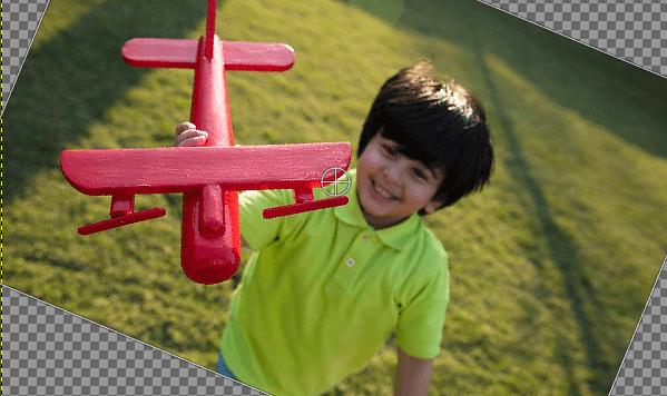 GIMP Rotate Image