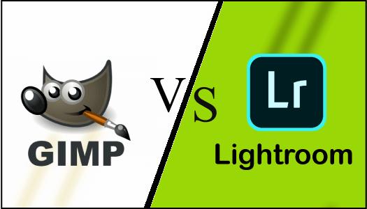 GIMP vs Lightroom