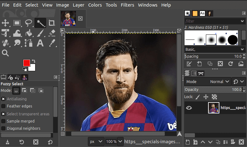 How to Remove Background of an Image Using GIMP