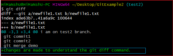 Git Diff