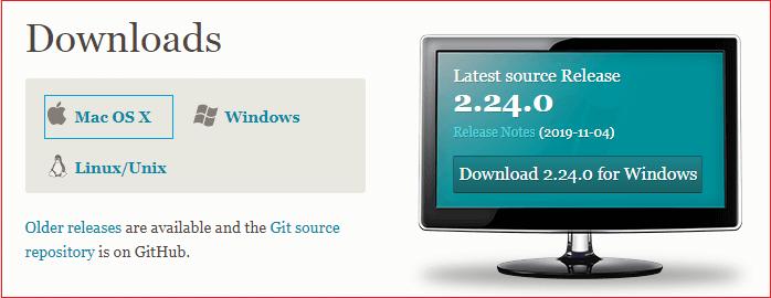 Install Git on Mac