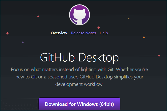 GitHub Desktop for windows