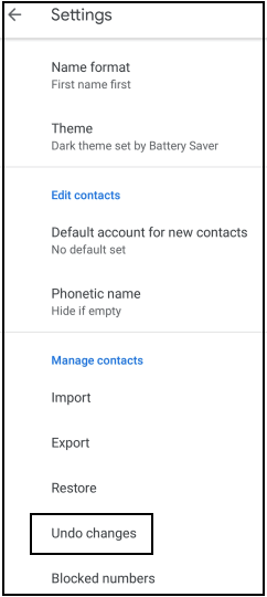 How to delete contacts from Gmail?