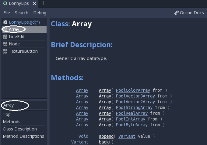 Appending arrays & if-condition