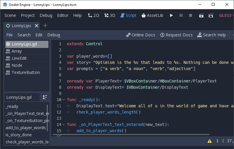 queue_free() and reload_current_scene() functions in Godot
