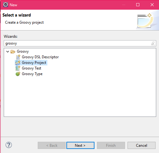 Create a project on eclipse
