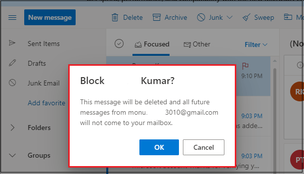 How to Block Emails