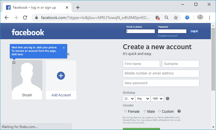 How to open and close Facebook account