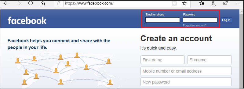 How to publish your photo on Facebook through the gallery