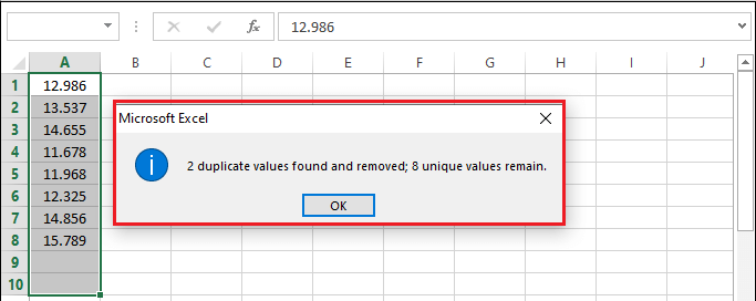 How to remove duplicates in Excel