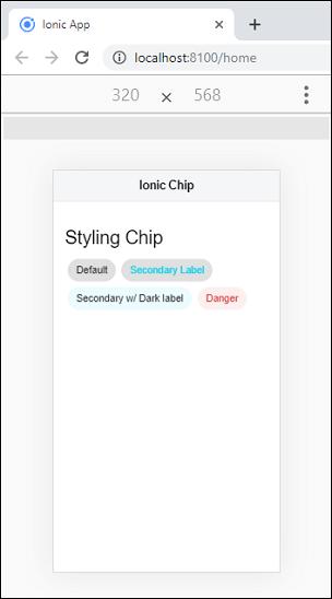 Ionic Chip