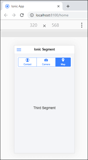 Ionic Segment
