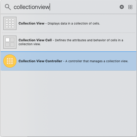 iOS CollectionViewController
