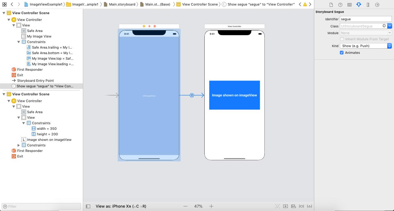 iOS ImageView