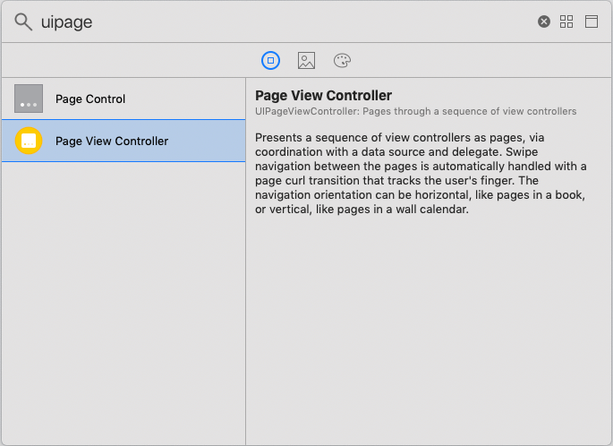 iOS PageViewController