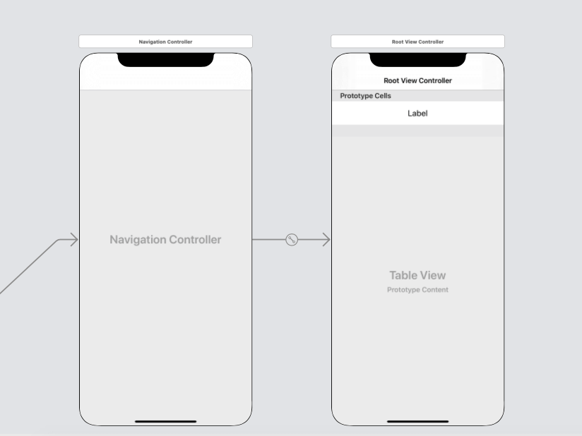 iOS Split View Controller