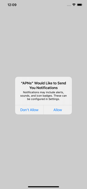 Push Notifications in iOS