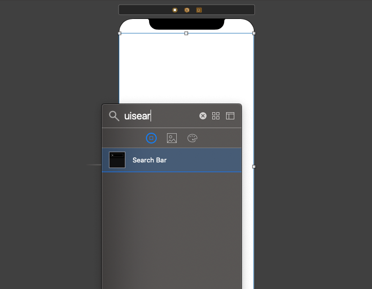 Search Bar in iOS Applications