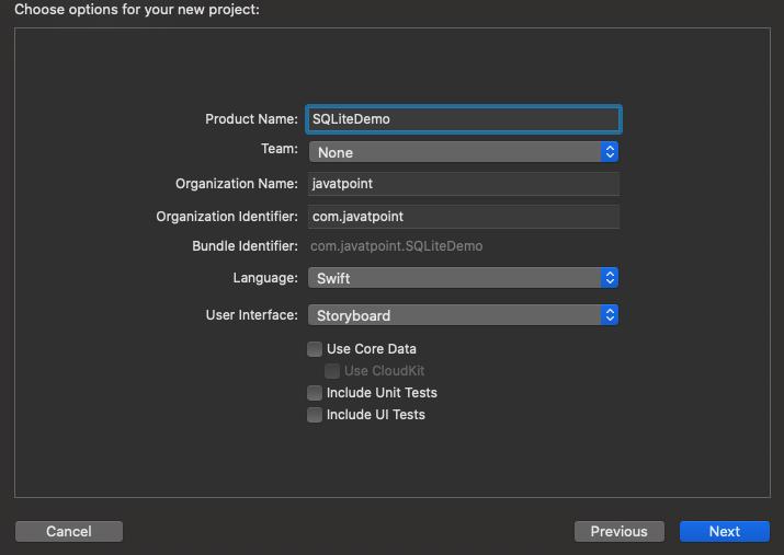 Using SQLite in iOS app
