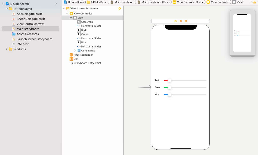 Using UIColor to customize app appearance