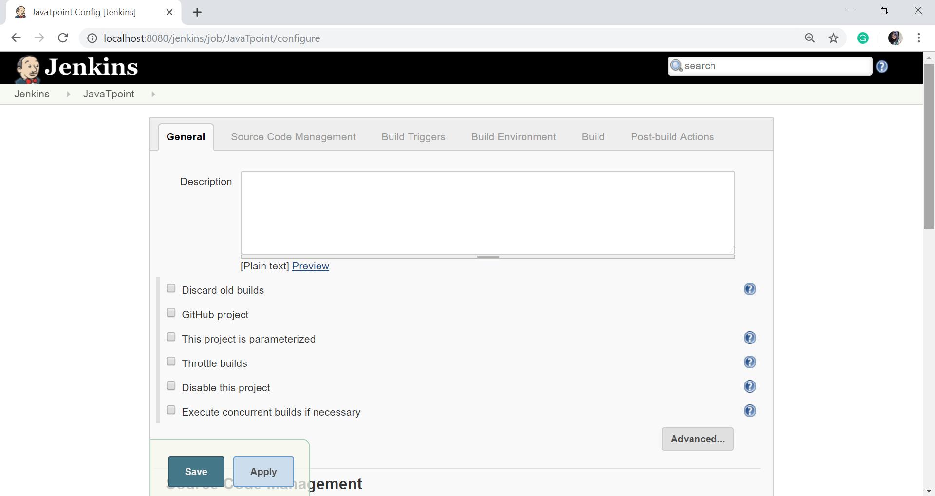 GitHub Setup for Jenkins