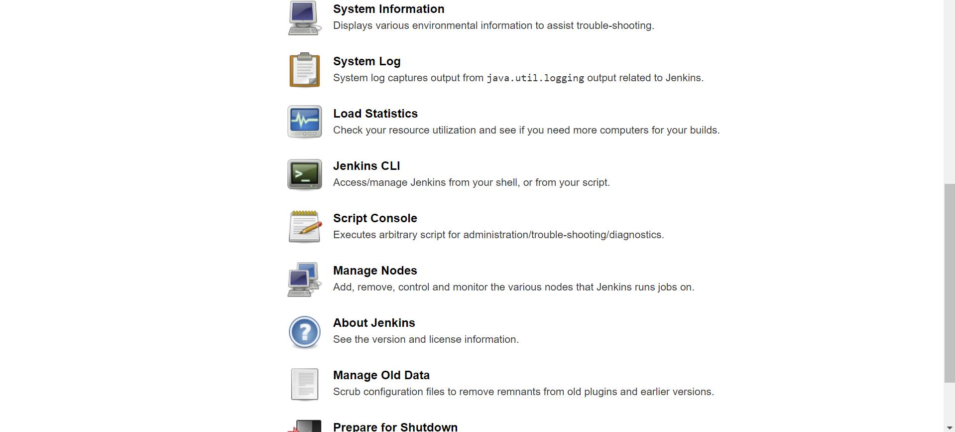 Jenkins Configuration