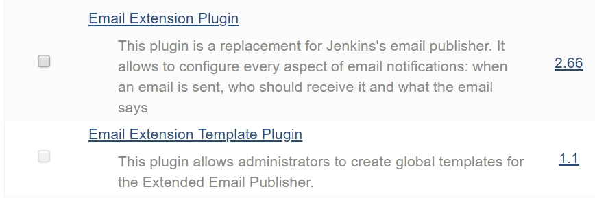 Jenkins Notification