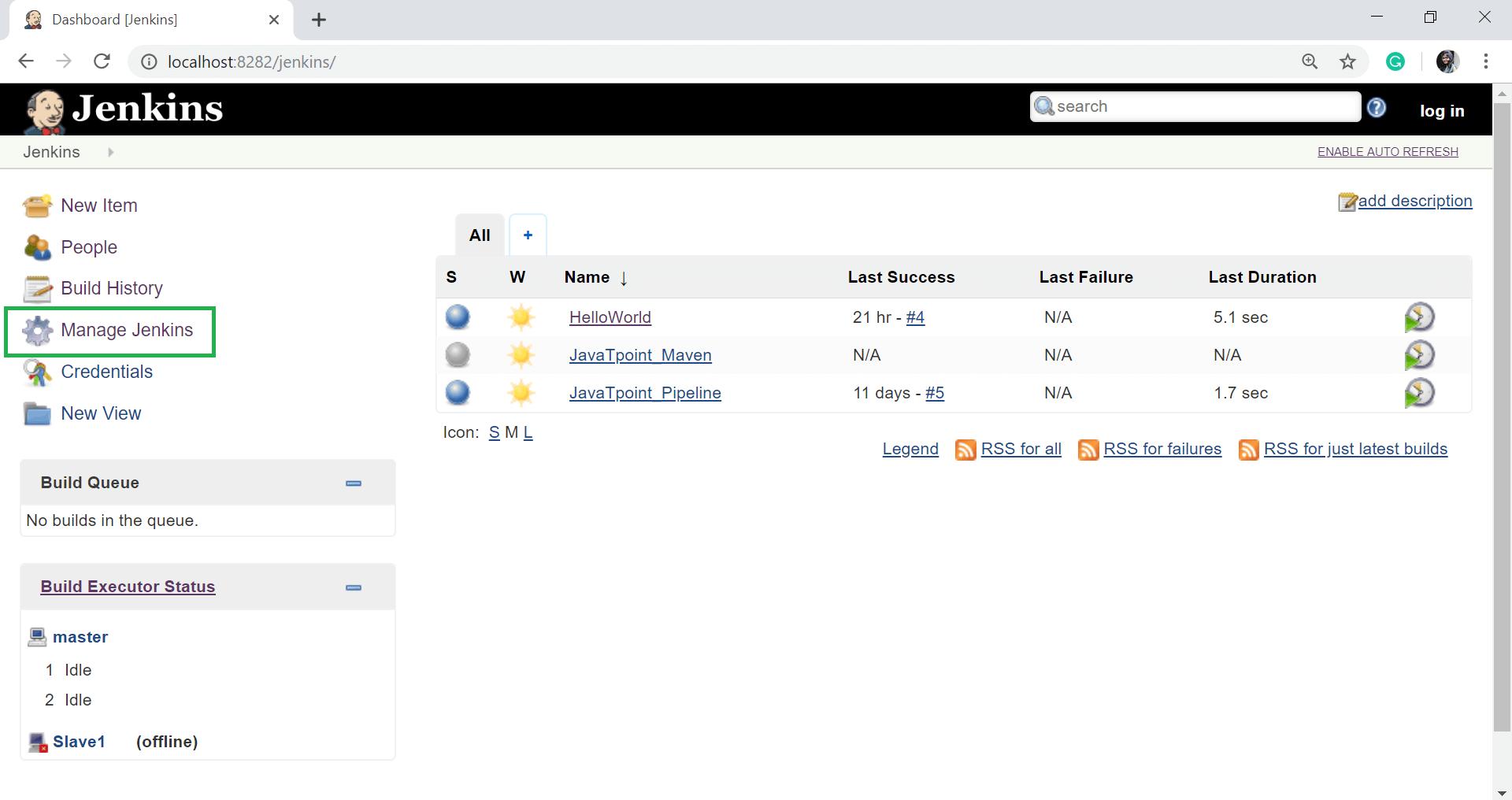Jenkins Server Maintenance