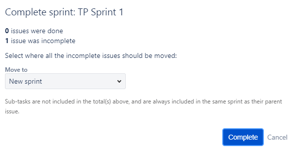 Jira Create Sprint