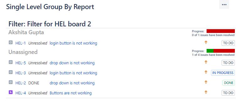 Jira Reports 4