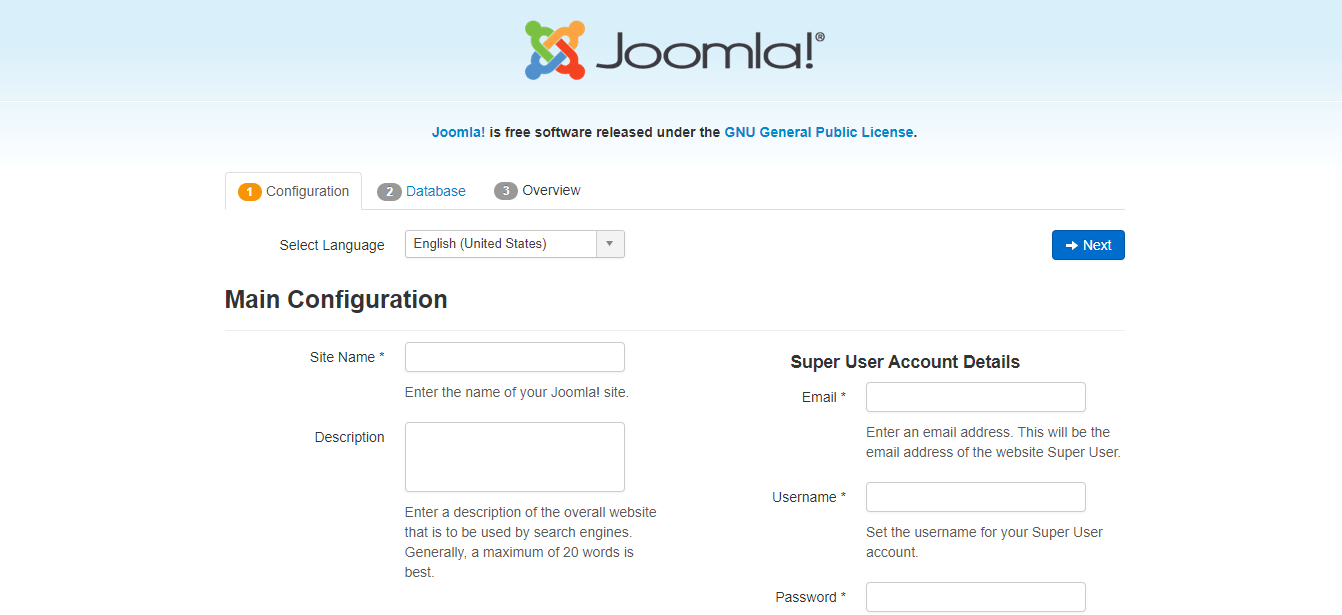 Joomla Installation on Linux