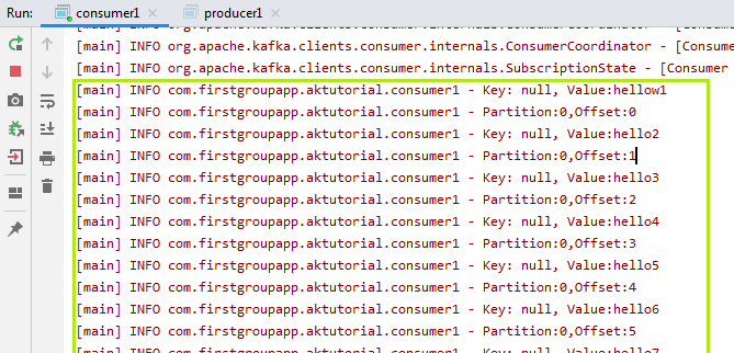 Creating Kafka Consumer in Java