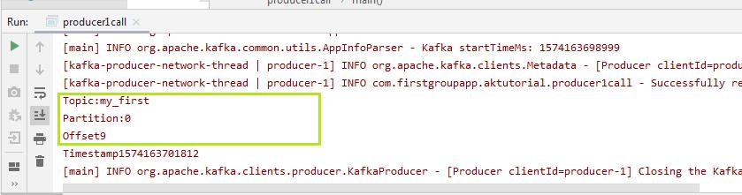 Kafka Producer Callbacks 1