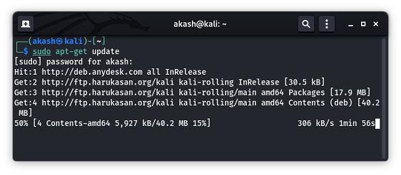 Install Mozilla Firefox In Kali Linux