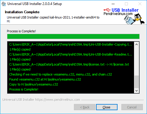 Making a Kali Bootable USB Drive (Windows)