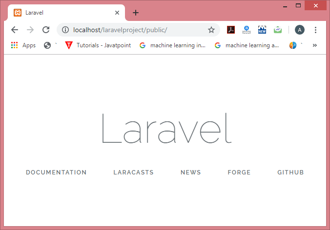 Laravel Basic Routing