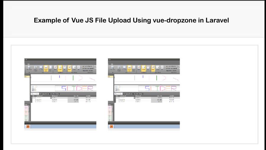 Laravel VueJS File Upload Using Vue-dropzone Example