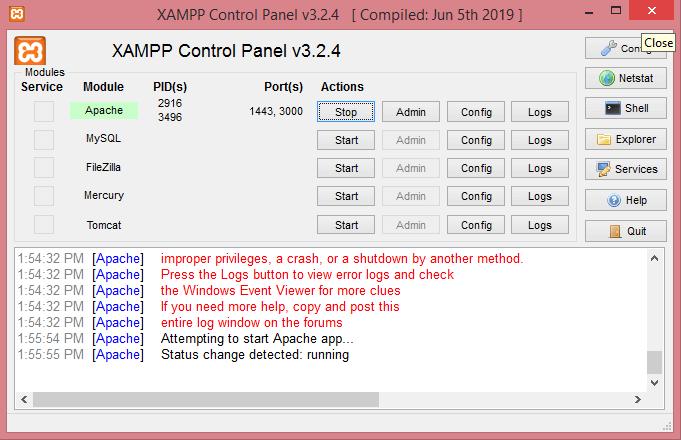 XAMPP Installation