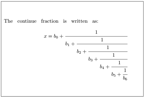 Latex Fractions 11