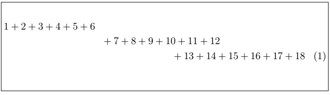 Latex Fractions 2