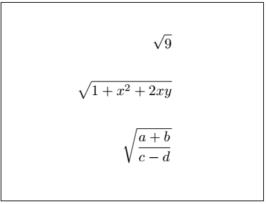Latex Fractions 9