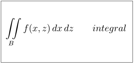Latex Integral 2